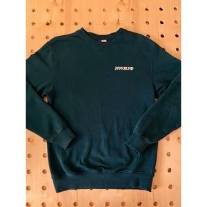 Teal H&M Graphic Crewneck